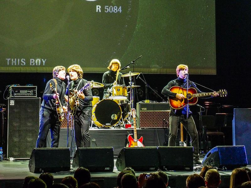 年輕時的Beatles
