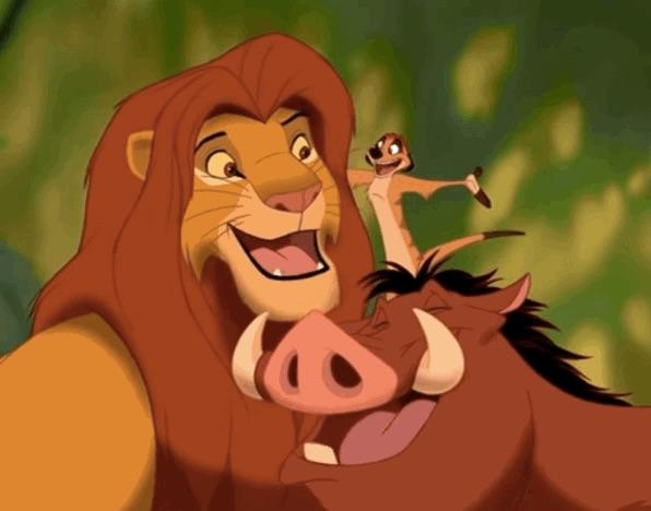 小時候以為獅子王是這樣