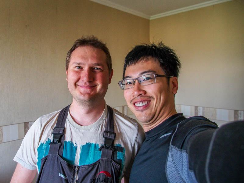我的第一位俄羅斯朋友-Andrew