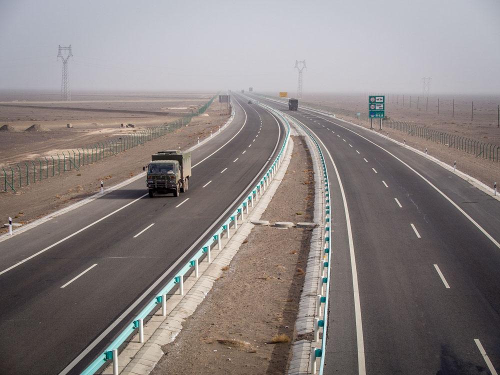 無趣的高速路