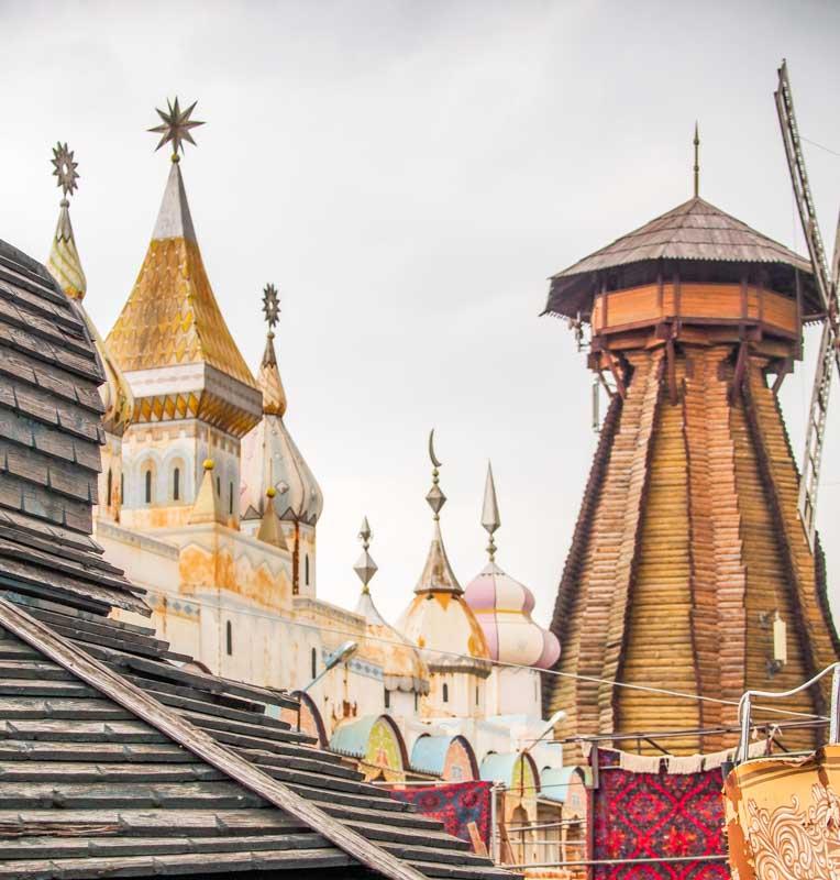 風車和城堡