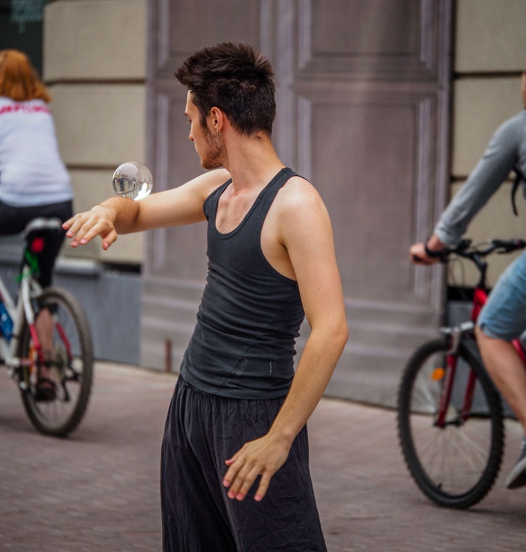 雜耍系街頭藝人